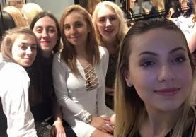 Sarah, me, Ell, Em, Geo x