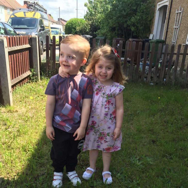1 Teddy and Scarlett