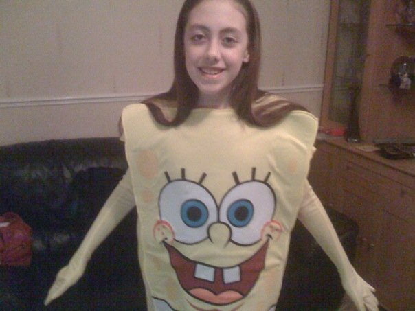 2009 me as spongebob